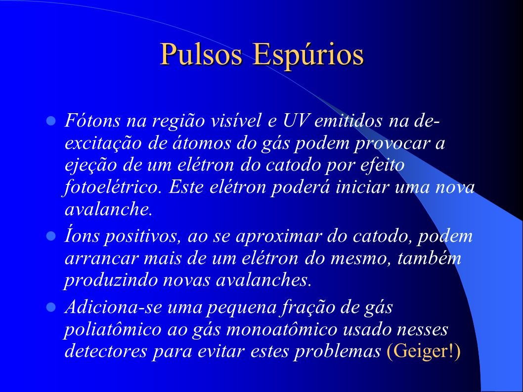 Pulsos Espúrios