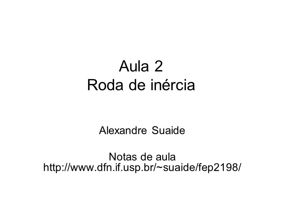 Notas de aula http://www.dfn.if.usp.br/~suaide/fep2198/