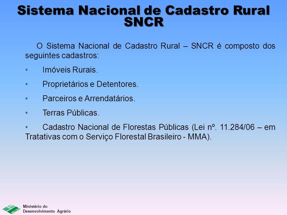 Sistema Nacional de Cadastro Rural SNCR