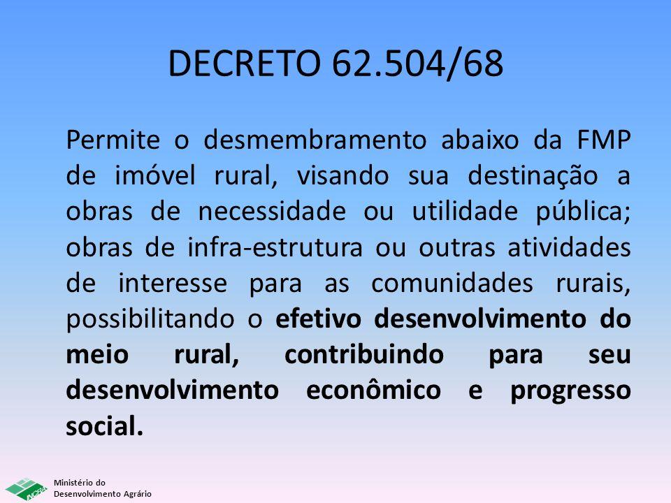 DECRETO 62.504/68