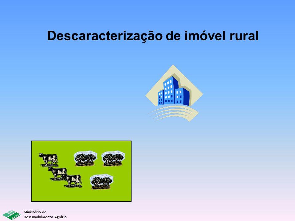 Descaracterização de imóvel rural