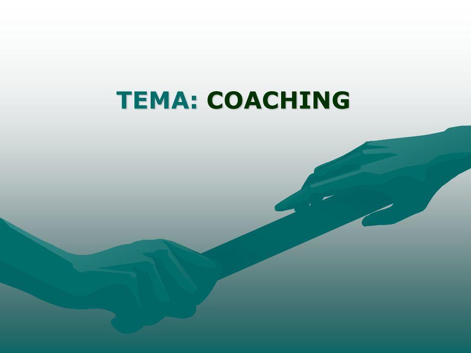 TEMA: COACHING