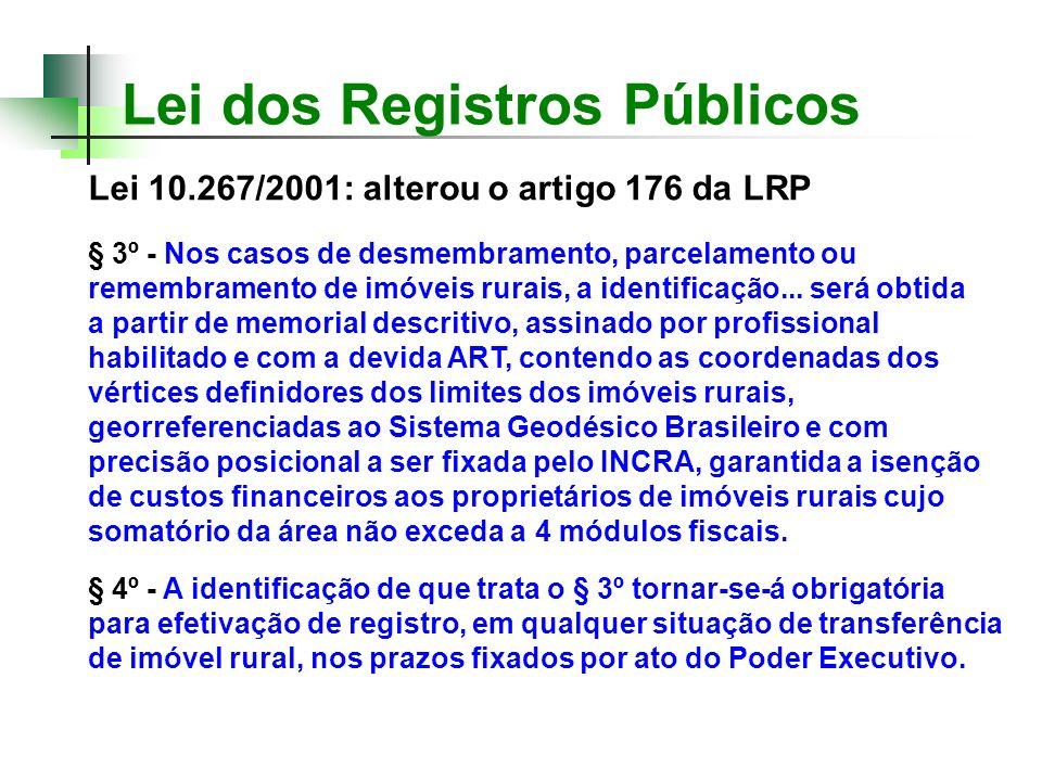 Lei dos Registros Públicos