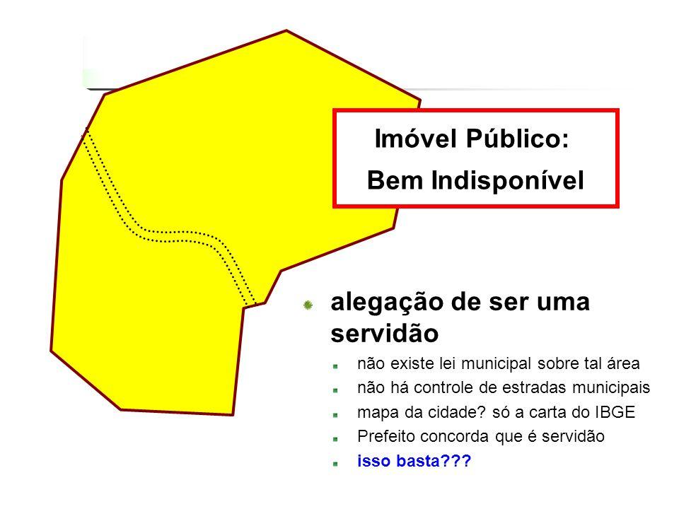 Imóvel Público: Bem Indisponível