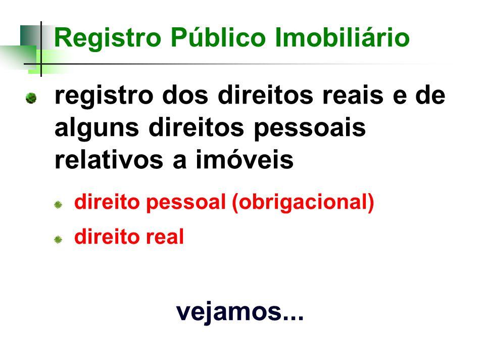 Registro Público Imobiliário