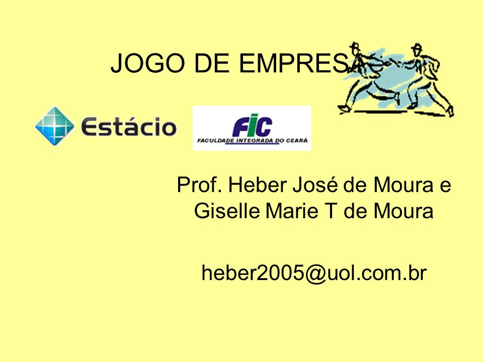 Prof. Heber José de Moura e Giselle Marie T de Moura