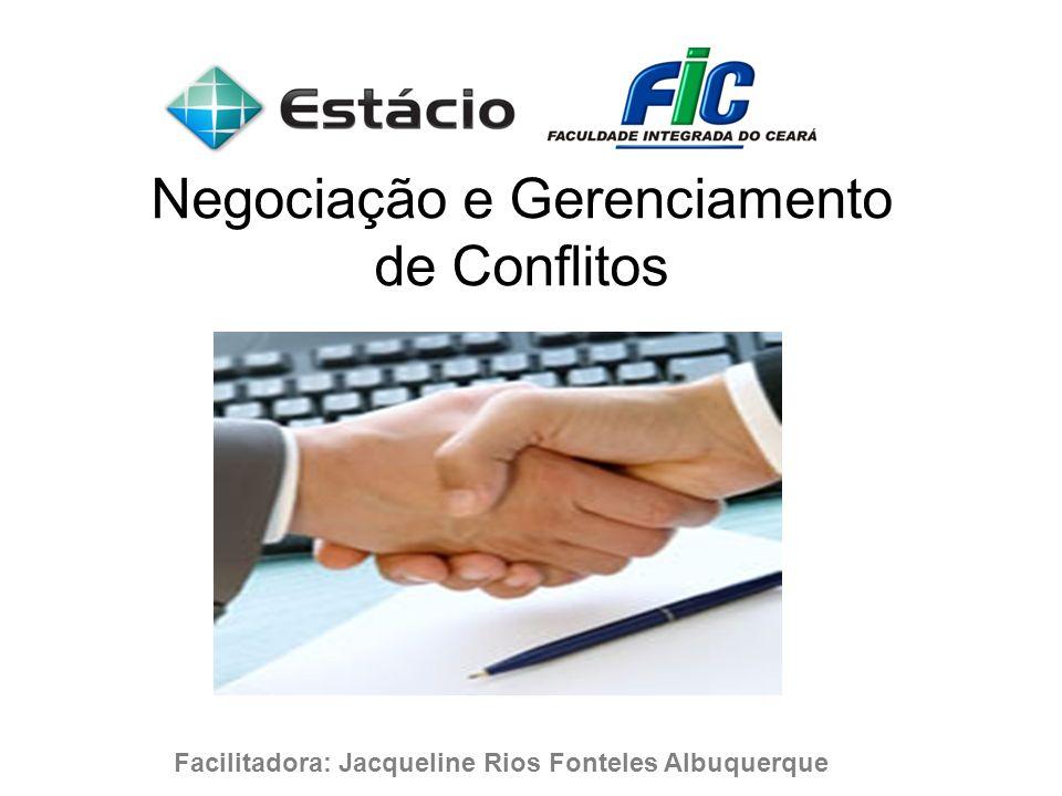 Negociação e Gerenciamento de Conflitos