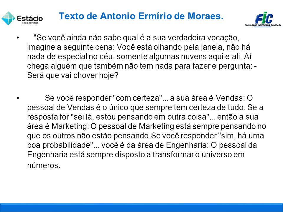 Texto de Antonio Ermírio de Moraes.