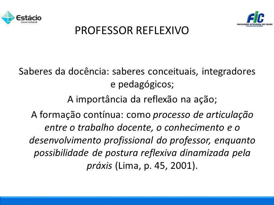 PROFESSOR REFLEXIVO