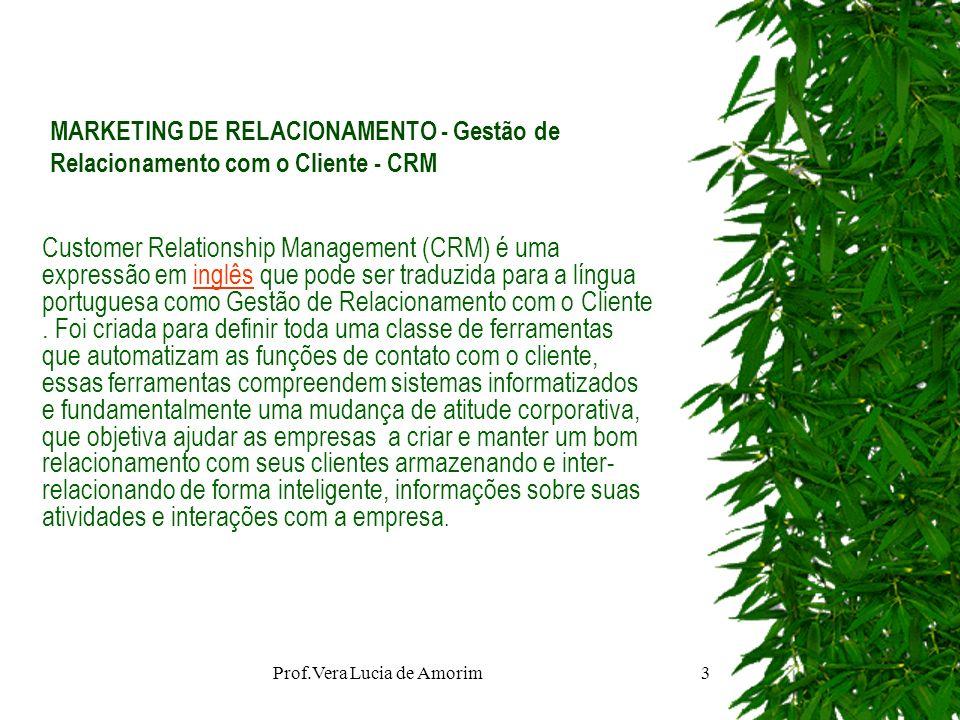 Prof.Vera Lucia de Amorim