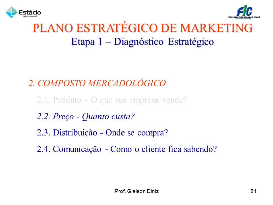 PLANO ESTRATÉGICO DE MARKETING