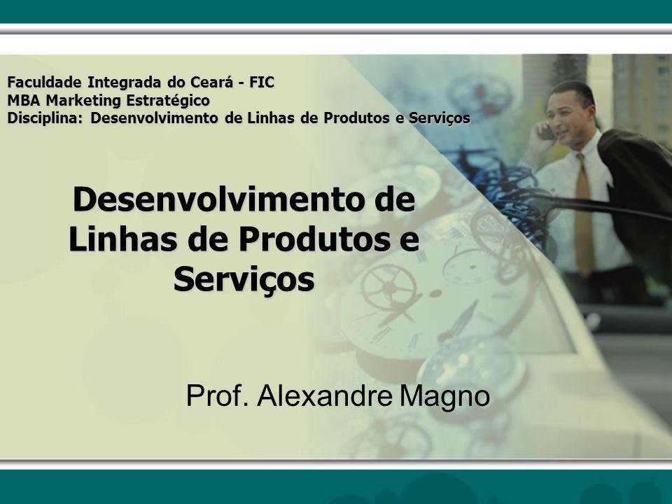Desenvolvimento de Linhas de Produtos e Serviços