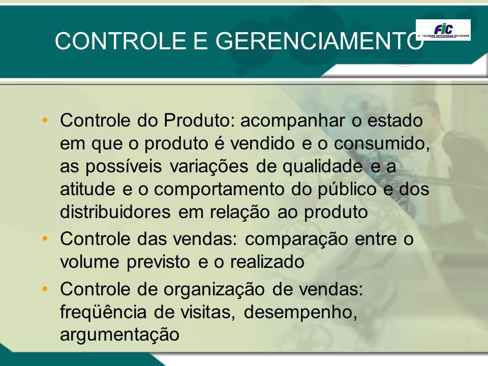CONTROLE E GERENCIAMENTO