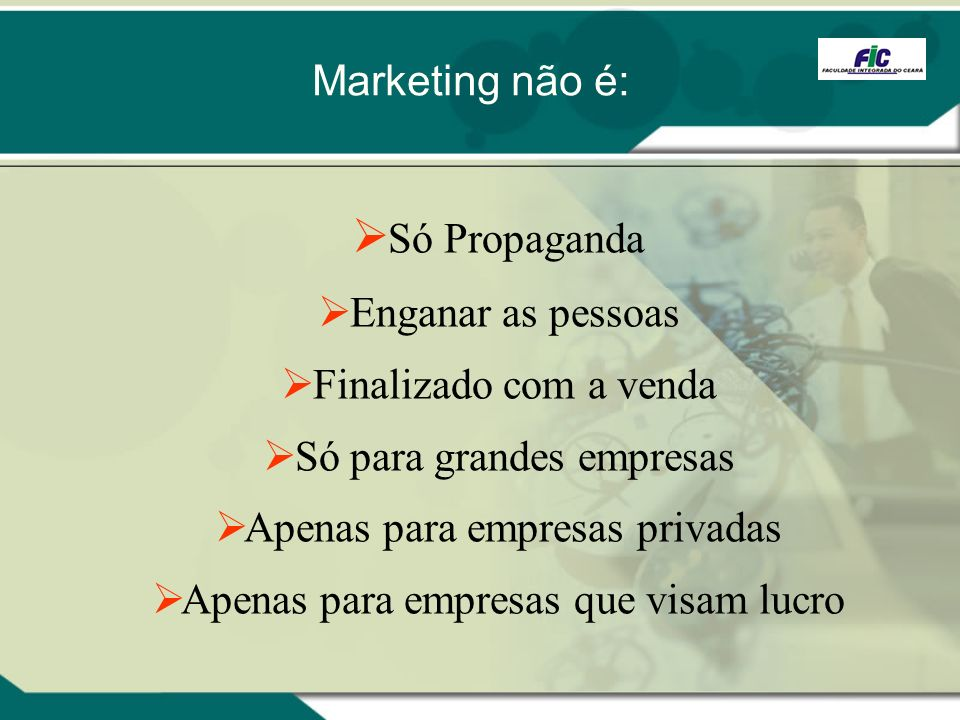 Marketing Estratégico / Profa. Cláudia Buhamra Abreu