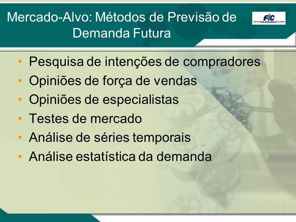 Mercado-Alvo: Métodos de Previsão de Demanda Futura