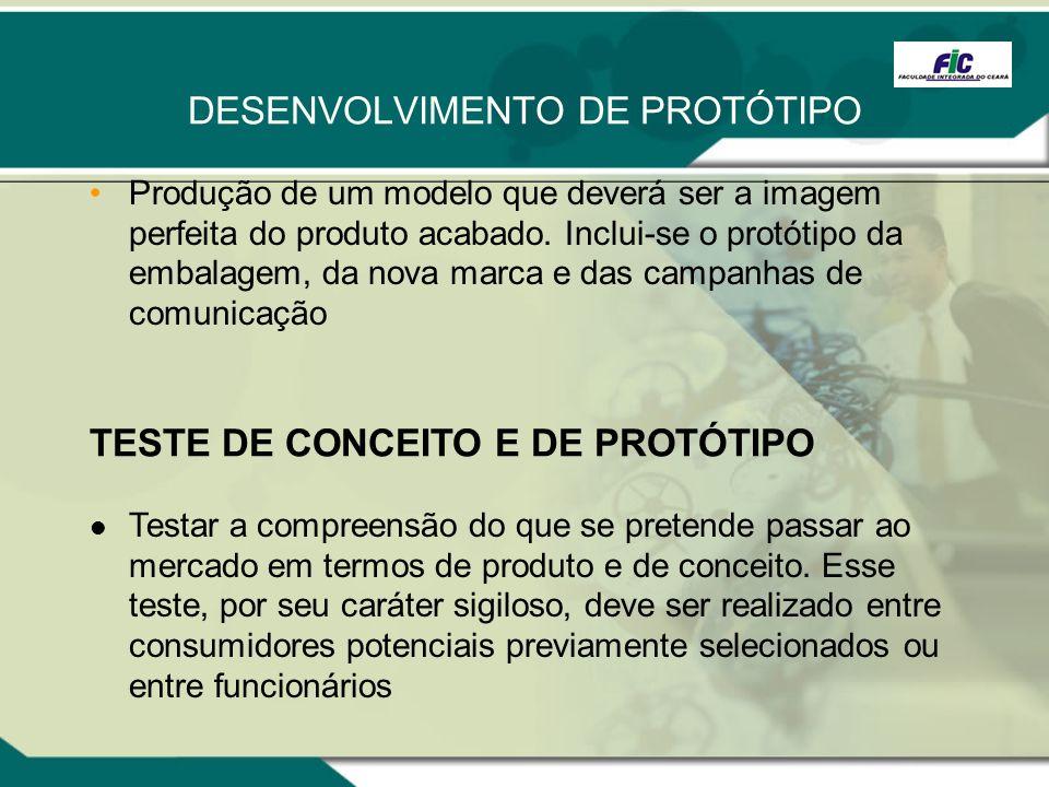DESENVOLVIMENTO DE PROTÓTIPO