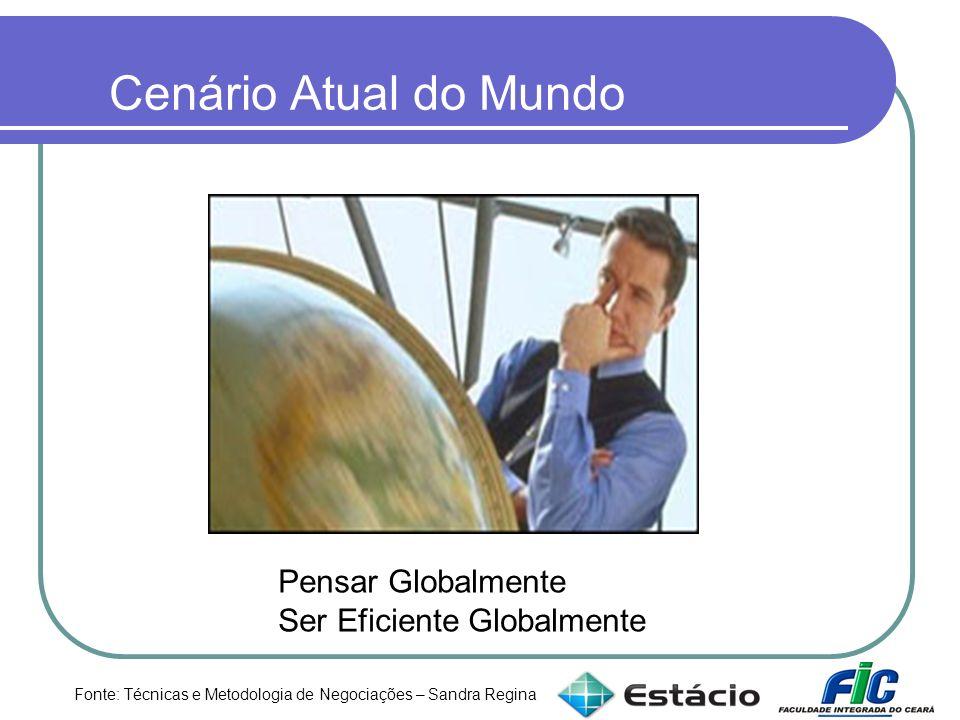 Cenário Atual do Mundo Pensar Globalmente Ser Eficiente Globalmente