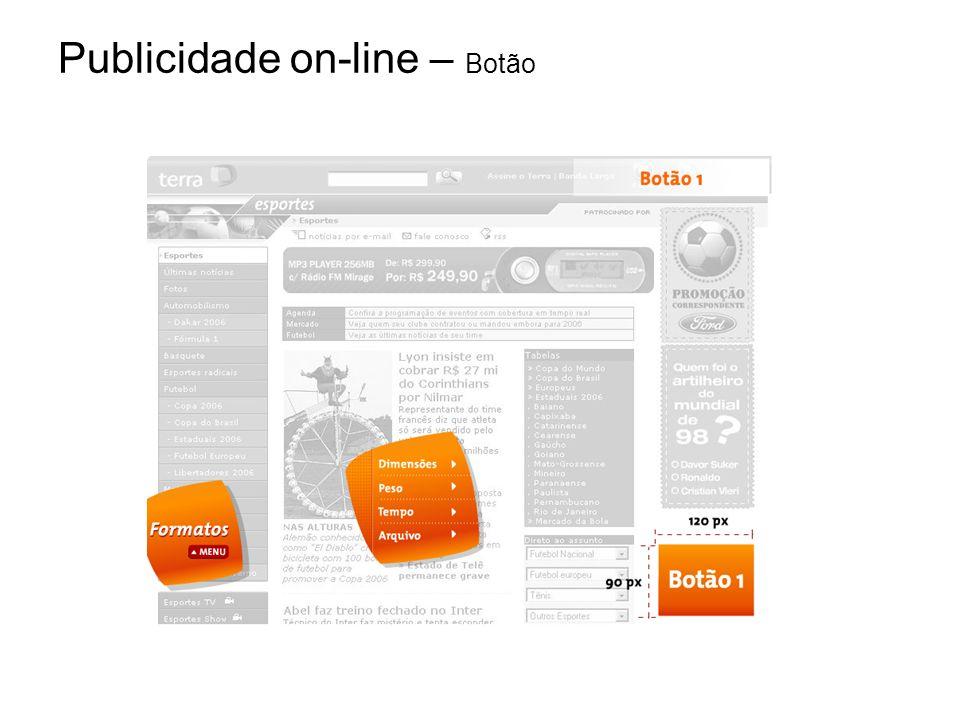 Publicidade on-line – Botão