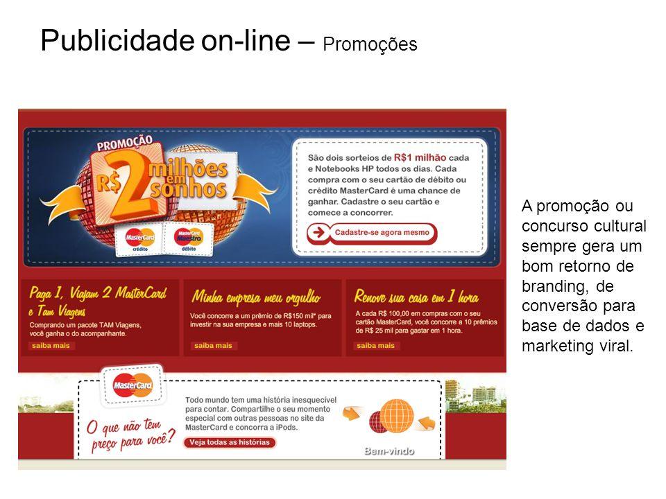 Publicidade on-line – Promoções