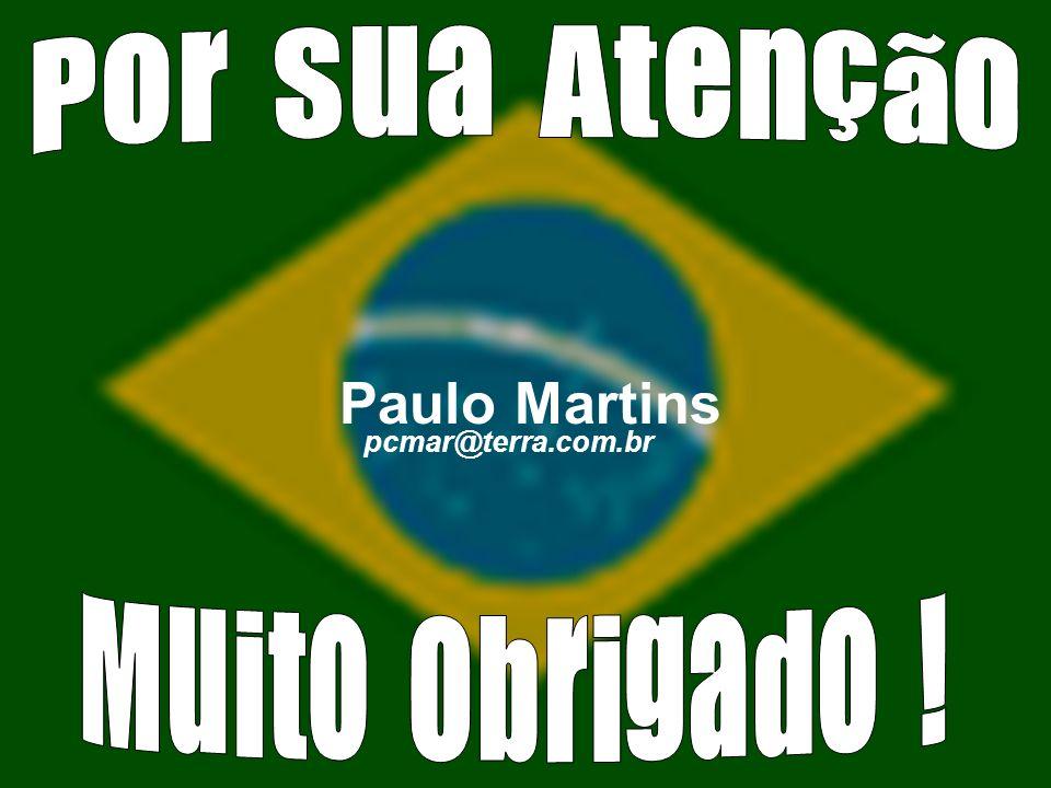 Por Sua Atenção Paulo Martins pcmar@terra.com.br Muito Obrigado !