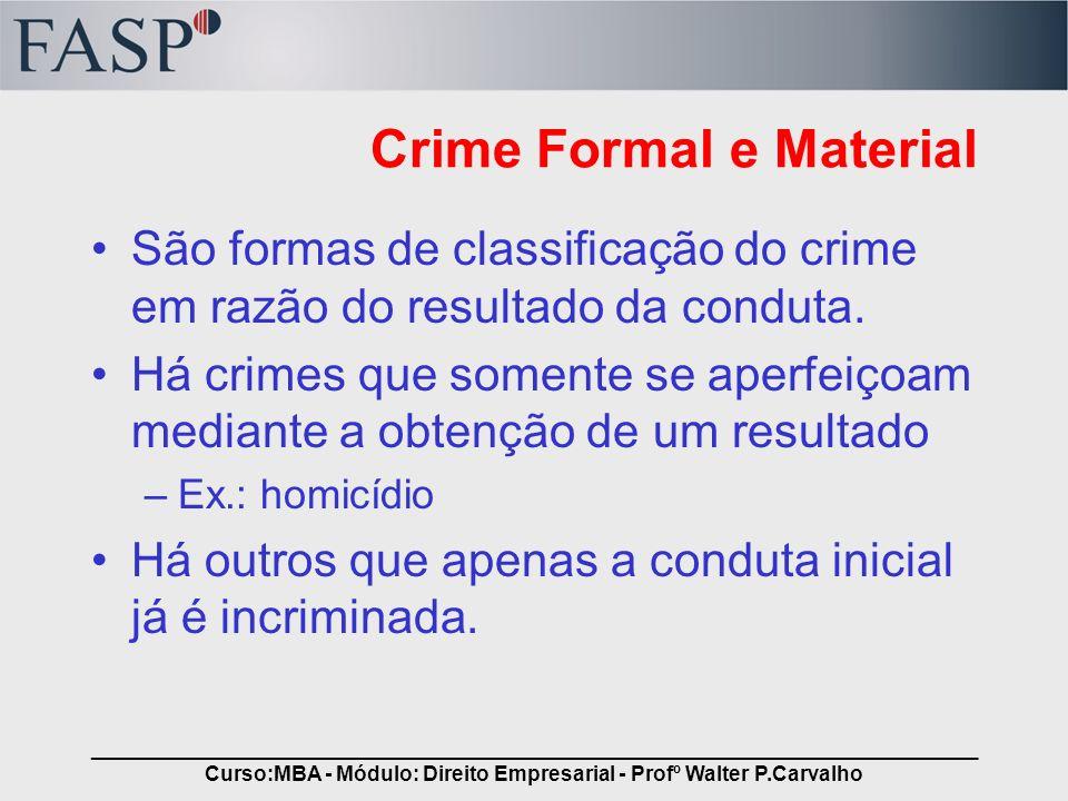 Crime Formal e Material