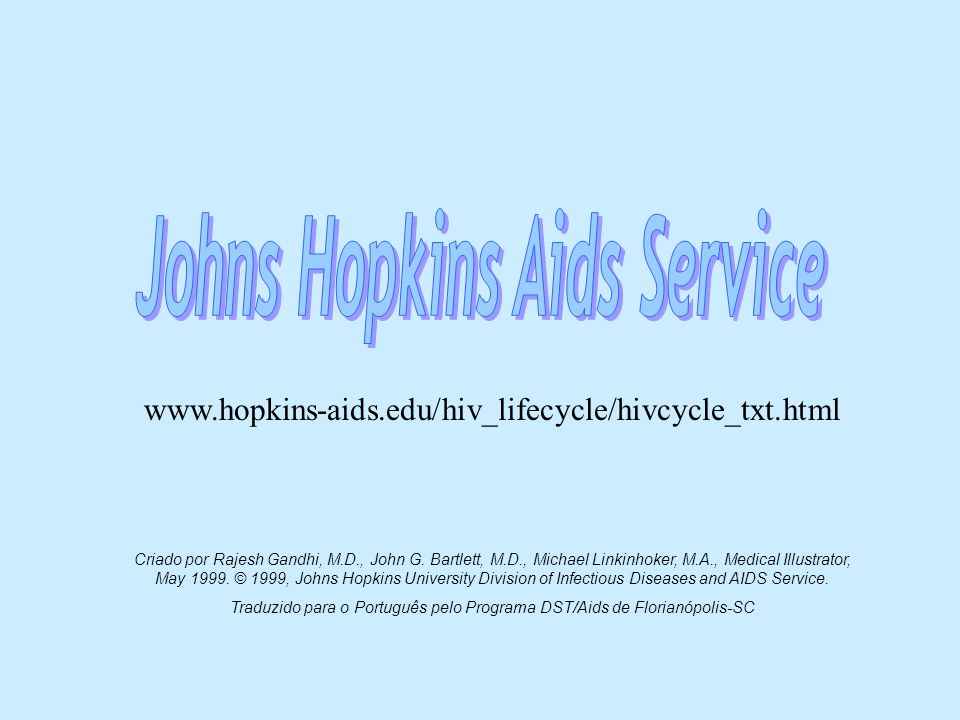 Johns Hopkins Aids Service