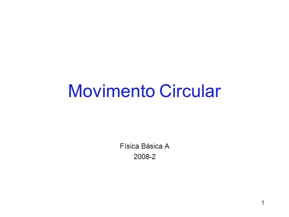 Movimento Circular Física Básica A 2008-2