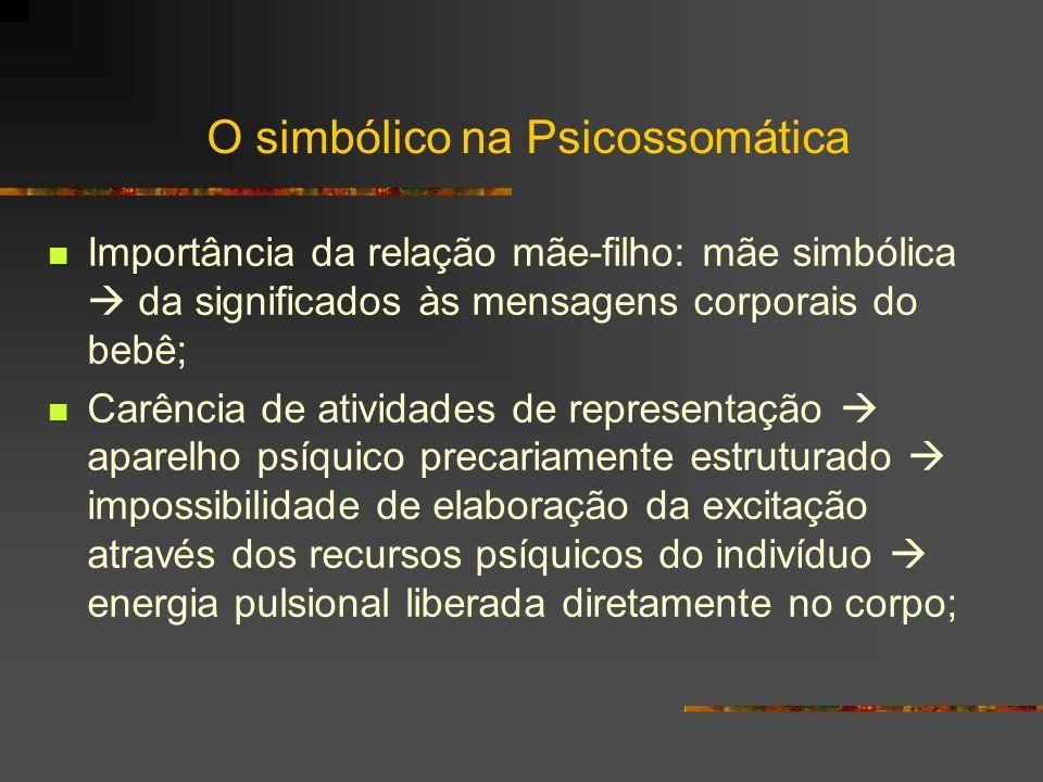 O simbólico na Psicossomática