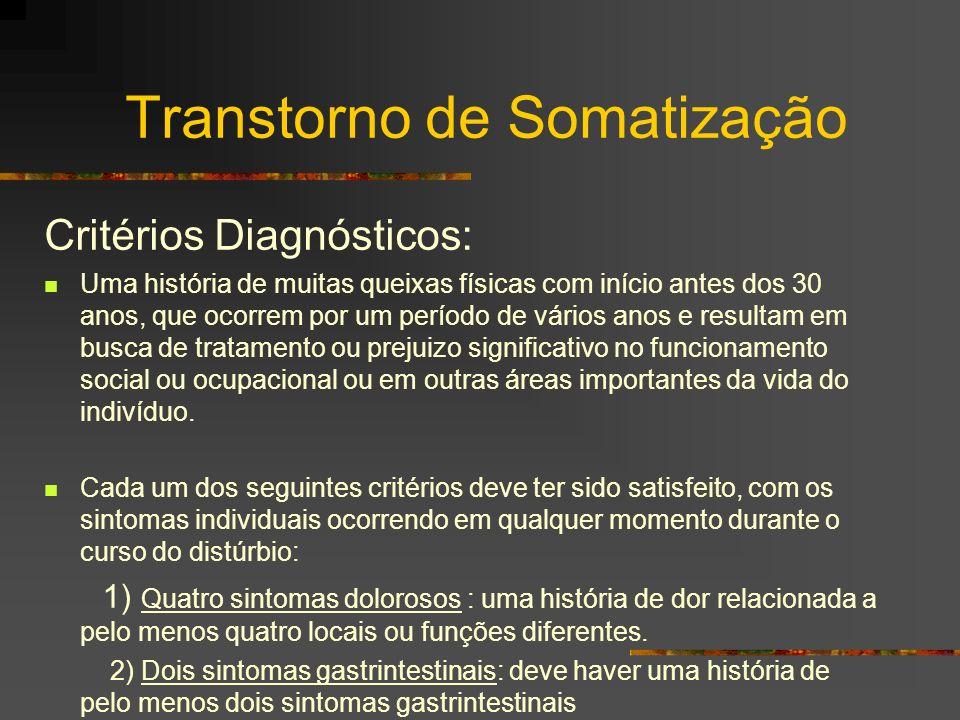 Transtorno de Somatização