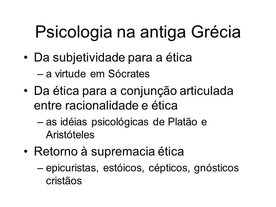Psicologia na antiga Grécia