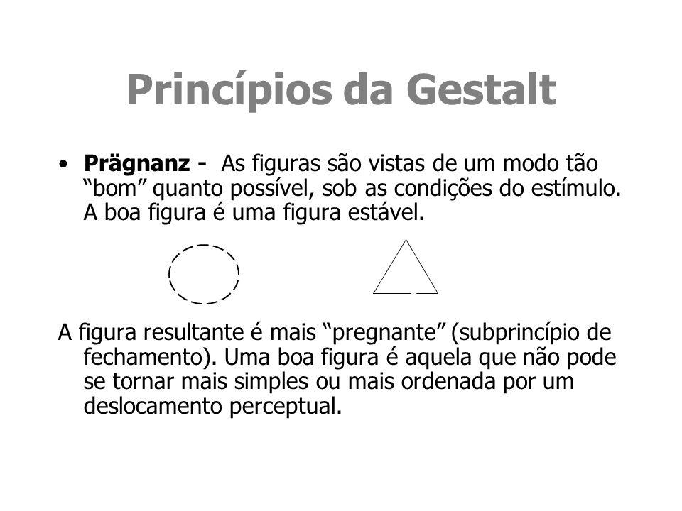 Princípios da Gestalt