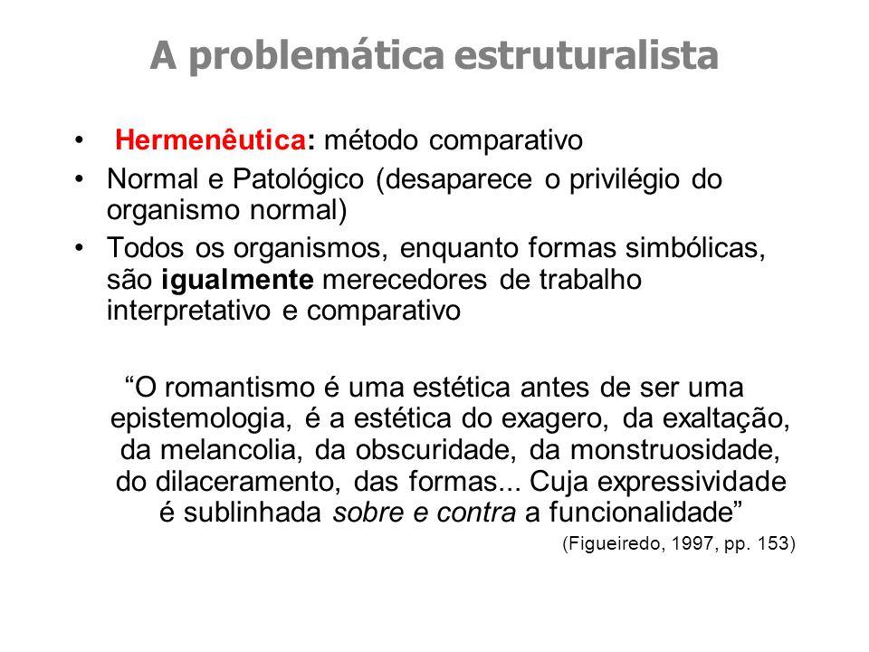 A problemática estruturalista