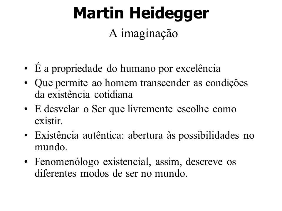 Martin Heidegger A imaginação