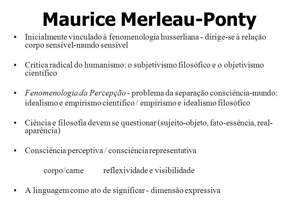 Maurice Merleau-Ponty