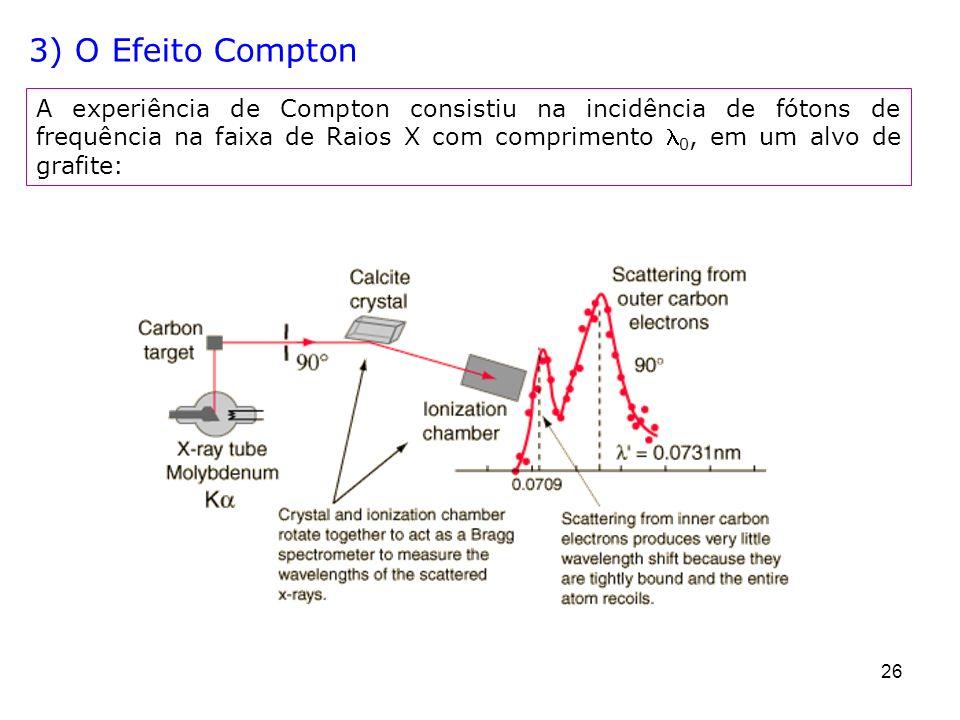 3) O Efeito Compton