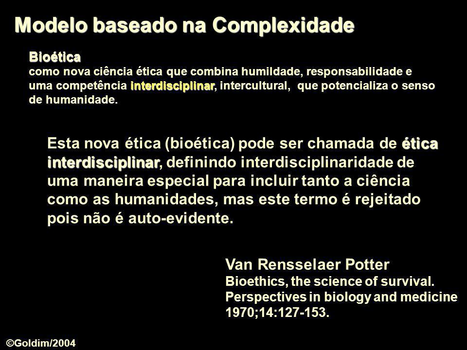 Modelo baseado na Complexidade
