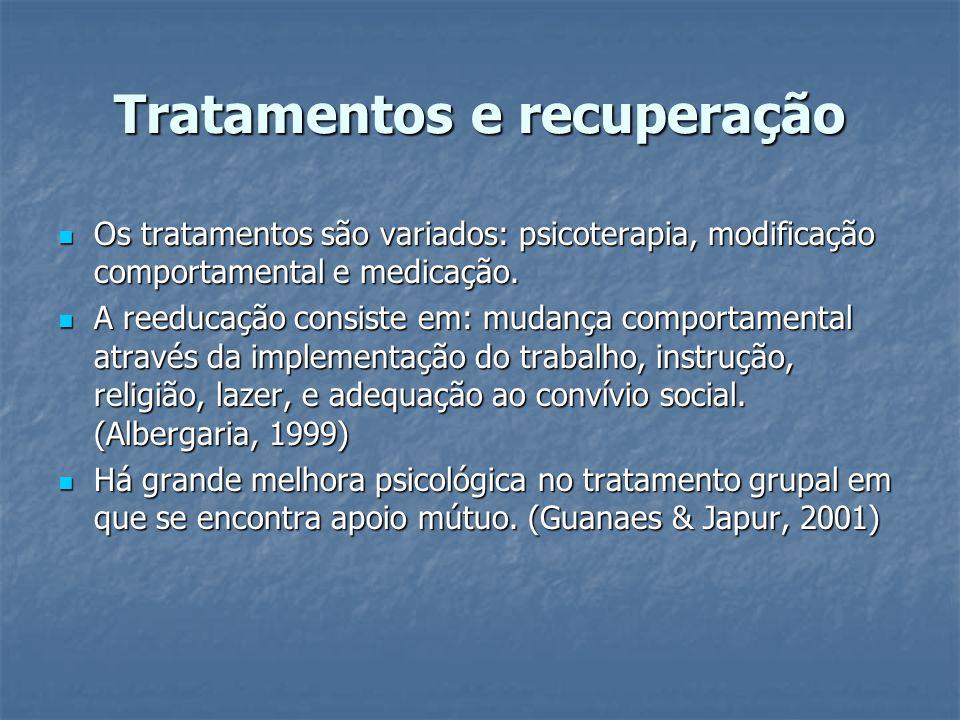 Tratamentos e recuperação
