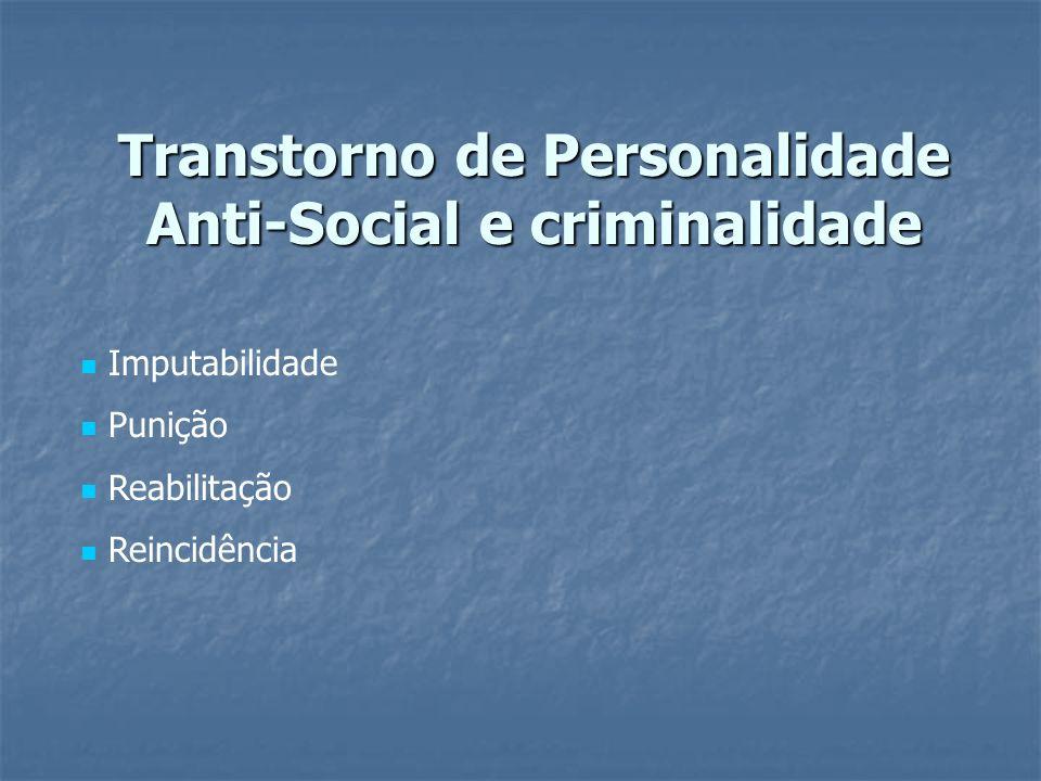 Transtorno de Personalidade Anti-Social e criminalidade