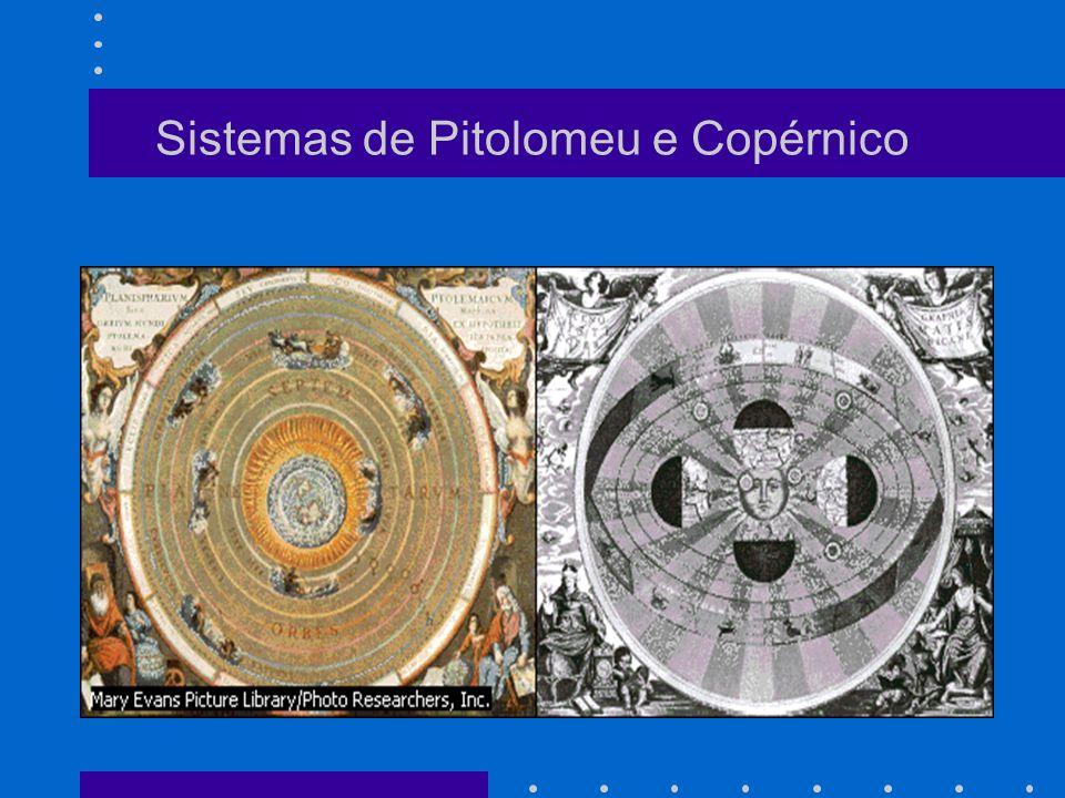 Sistemas de Pitolomeu e Copérnico
