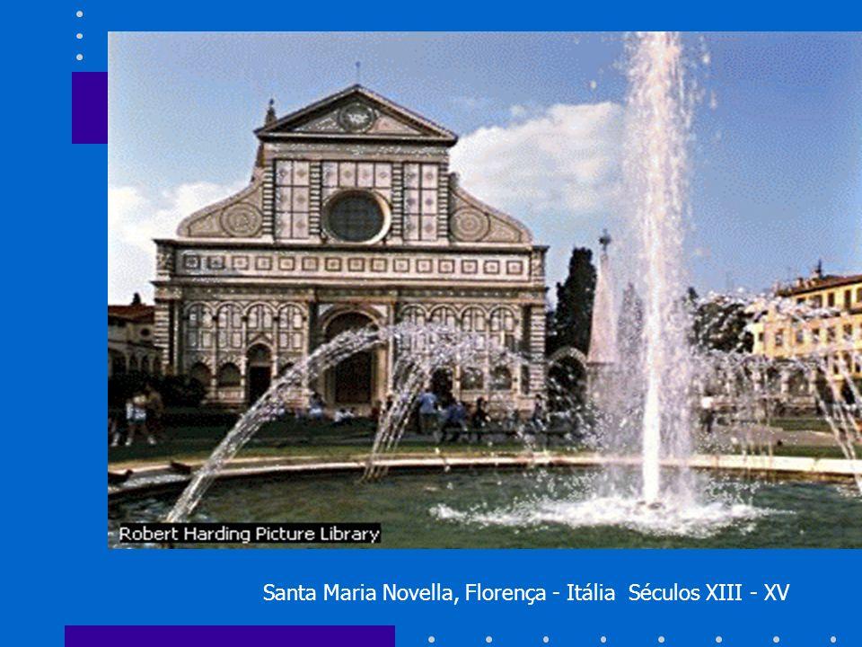 Santa Maria Novella, Florença - Itália Séculos XIII - XV
