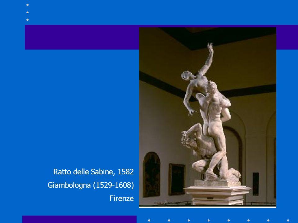 Ratto delle Sabine, 1582 Giambologna (1529-1608) Firenze