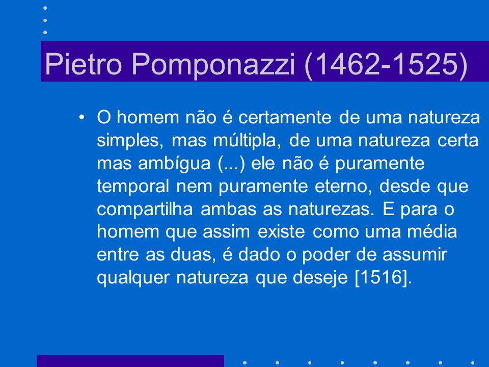 Pietro Pomponazzi (1462-1525)