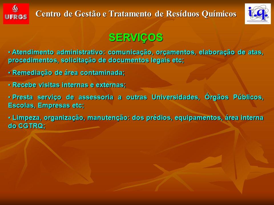 Centro de Gestão e Tratamento de Resíduos Químicos