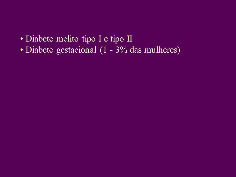 Diabete melito tipo I e tipo II