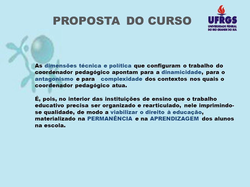 PROPOSTA DO CURSO