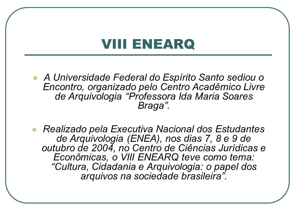VIII ENEARQ