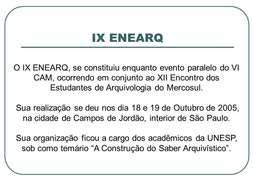 IX ENEARQ