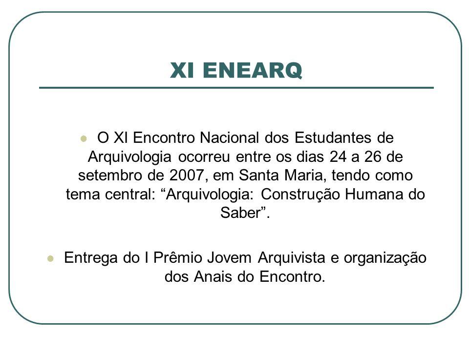 XI ENEARQ