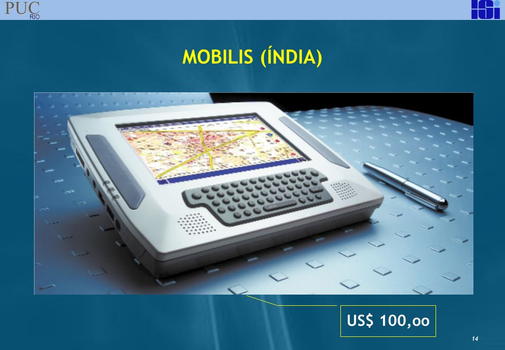MOBILIS (ÍNDIA) US$ 100,oo