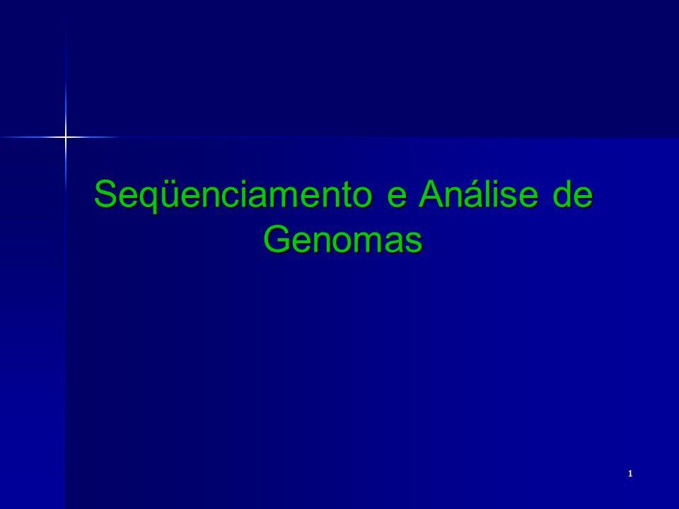 Seqüenciamento e Análise de Genomas